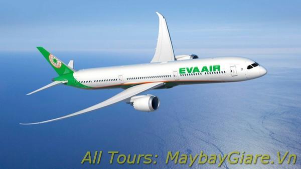 Vé máy giá rẻ Eva Airlines, đại lý Eva Airlines chính thức toàn quốc Vé máy bay Eva Airlines