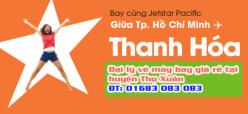 Đại lý vé máy bay giá rẻ tại huyện Thọ Xuân của Jetstar