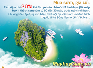 Vietnam Airlines Holidays – Nơi bạn thể hiện phong cách. Ưu đãi đặc biệt cho những ai thích khám phá. Vietnam Airlines Holidays – Nơi bạn thể hiện phong cách.
