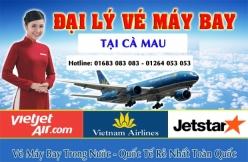 Đại lý vé máy bay giá rẻ tại Cà Mau