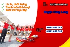 Đại lý vé máy bay giá rẻ tại huyện Càng Long của Vietjet Air chuyên nghiệp Đại lý vé máy bay giá rẻ tại huyện Càng Long của Vietjet Air