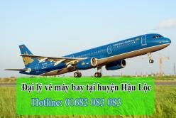 Đại lý vé máy bay giá rẻ tại huyện Hậu Lộc của Vietnam Airlines