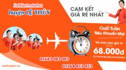 Đại lý vé máy bay giá rẻ tại huyện Lệ Thủy của Jetstar bán vé rẻ nhất thị trường Đại lý vé máy bay giá rẻ tại huyện Lệ Thủy của Jetstar