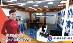 Đại lý vé máy bay giá rẻ tại huyện Nghĩa Hành