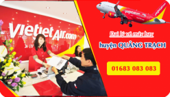 Đại lý vé máy bay giá rẻ tại huyện Quảng Trạch của Vietjet Air bán vé rẻ nhất thị trường Đại lý vé máy bay giá rẻ tại huyện Quảng Trạch của Vietjet Air