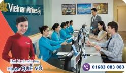 Đại lý vé máy bay giá rẻ tại huyện Quế Võ của Vietnam Airlines bán vé rẻ nhất thị trường Đại lý vé máy bay giá rẻ tại huyện Quế Võ của Vietnam Airlines