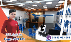 Đại lý vé máy bay giá rẻ tại huyện Sơn Tây