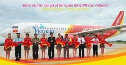 Đại lý vé máy bay giá rẻ tại huyện Sông Mã của Vietjet Air uy tín hàng đầu Đại lý vé máy bay giá rẻ tại huyện Sông Mã của Vietjet Air