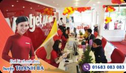 Đại lý vé máy bay giá rẻ tại huyện Thanh Ba của Vietjet Air bán vé rẻ và chuyên nghiệp Đại lý vé máy bay giá rẻ tại huyện Thanh Ba của Vietjet Air