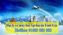 Đại lý vé máy bay giá rẻ tại huyện Tĩnh Gia