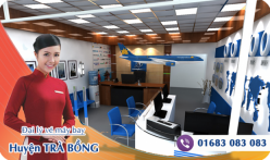 Đại lý vé máy bay giá rẻ tại huyện Trà Bồng