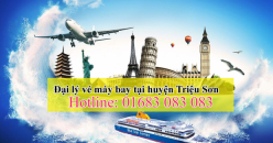 Đại lý vé máy bay giá rẻ tại huyện Triệu Sơn