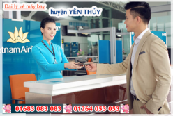 Đại lý vé máy bay giá rẻ tại huyện Yên Thủy của Vietnam Airlines bán vé rẻ nhất thị trường Đại lý vé máy bay giá rẻ tại huyện Yên Thủy của Vietnam Airlines