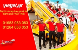 Đại lý vé máy bay giá rẻ tại thành phố Phan Thiết của Vietjet Air chuyên nghiệp Đại lý vé máy bay giá rẻ tại thành phố Phan Thiết của Vietjet Air