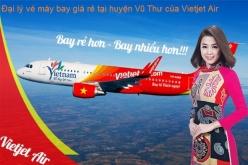 Đại lý vé máy bay giá rẻ tại huyện Vũ Thư của Vietjet Air uy tín Đại lý vé máy bay giá rẻ tại huyện Vũ Thư của Vietjet Air
