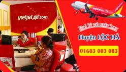 Đại lý vé máy bay giá rẻ tại huyện Lộc Hà của Vietjet Air bán vé rẻ nhất thị trường Đại lý vé máy bay giá rẻ tại huyện Lộc Hà của Vietjet Air