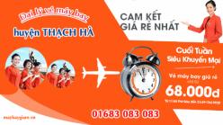 Đại lý vé máy bay giá rẻ tại huyện Thạch Hà của Jetstar bán vé rẻ nhất thị trường Đại lý vé máy bay giá rẻ tại huyện Thạch Hà của Jetstar
