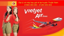 Đại lý vé máy bay giá rẻ tại huyện Thuận Nam của Vietjet Air uy tín hàng đầu Đại lý vé máy bay giá rẻ tại huyện Thuận Nam của Vietjet Air