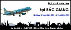 Đại lý vé máy bay giá rẻ tại Bắc Giang