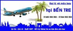 Đại lý vé máy bay giá rẻ tại Bến Tre