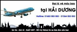Đại lý vé máy bay giá rẻ tại Hải Dương