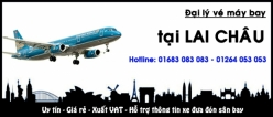 Đại lý vé máy bay giá rẻ tại Lai Châu