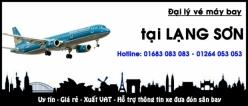 Đại lý vé máy bay giá rẻ tại Lạng Sơn