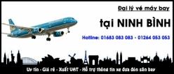 Đại lý vé máy bay giá rẻ tại Ninh Bình