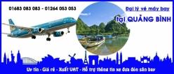 Đại lý vé máy bay giá rẻ tại Quảng Bình