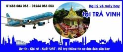Đại lý vé máy bay giá rẻ tại Trà Vinh