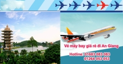 Đặt vé máy bay giá rẻ Đồng Hới đi An Giang Vé máy bay giá rẻ Đồng Hới đi An Giang