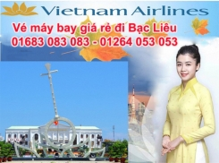 Đặt vé máy bay giá rẻ Hà Nội đi Bạc Liêu Vé máy bay giá rẻ Hà Nội đi Bạc Liêu