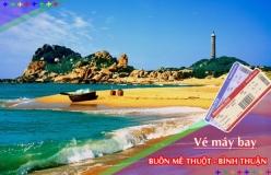 Đặt vé máy bay giá rẻ Buôn Mê Thuột đi Bình Thuận Vé máy bay giá rẻ Buôn Mê Thuột đi Bình Thuận
