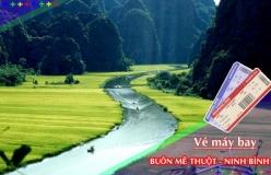 Đặt vé máy bay giá rẻ Buôn Mê Thuột đi Ninh Bình Vé máy bay giá rẻ Buôn Mê Thuột đi Ninh Bình