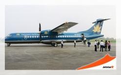 Vé máy bay giá rẻ Cà Mau đi Huế của Jetstar