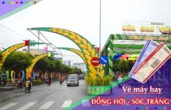 Đặt vé máy bay giá rẻ Đồng Hới đi Sóc Trăng Vé máy bay giá rẻ Đồng Hới đi Sóc Trăng