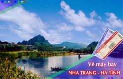 Đặt vé máy bay giá rẻ Nha Trang đi Hà Tĩnh Vé máy bay giá rẻ Nha Trang đi Hà Tĩnh