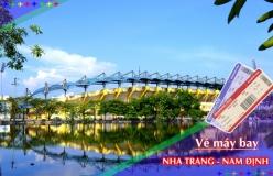 Đặt vé máy bay giá rẻ Nha Trang đi Nam Định Vé máy bay giá rẻ Nha Trang đi Nam Định