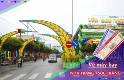 Đặt vé máy bay giá rẻ Nha Trang đi Sóc Trăng Vé máy bay giá rẻ Nha Trang đi Sóc Trăng