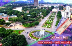 Đặt vé máy bay giá rẻ Nha Trang đi Thái Nguyên Vé máy bay giá rẻ Nha Trang đi Thái Nguyên