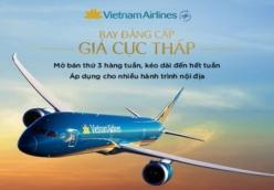Vé máy bay giá rẻ Phú Quốc đi Chu Lai (Tam Kỳ) của Vietnam Airlines giá hấp dẫn nhất thị trường Vé máy bay giá rẻ Phú Quốc đi Chu Lai (Tam Kỳ) của Vietnam Airlines