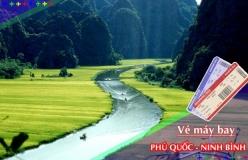 Đặt vé máy bay giá rẻ Phú Quốc đi Ninh Bình Vé máy bay giá rẻ Phú Quốc đi Ninh Bình
