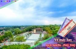Đặt vé máy bay giá rẻ Quy Nhơn đi Phú Thọ Vé máy bay giá rẻ Quy Nhơn đi Phú Thọ