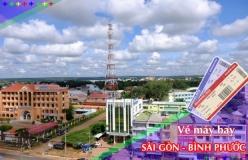 Đặt vé máy bay giá rẻ Sài Gòn đi Bình Phước Vé máy bay giá rẻ Sài Gòn đi Bình Phước
