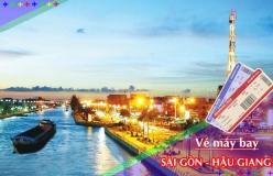 Đặt vé máy bay giá rẻ Sài Gòn đi Hậu Giang Vé máy bay giá rẻ Sài Gòn đi Hậu Giang