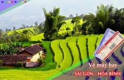 Đặt vé máy bay giá rẻ Sài Gòn đi Hòa Bình Vé máy bay giá rẻ Sài Gòn đi Hòa Bình