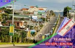 Đặt vé máy bay giá rẻ Sài Gòn đi Kon Tum Vé máy bay giá rẻ Sài Gòn đi Kon Tum