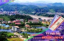 Đặt vé máy bay giá rẻ Sài Gòn đi Lào Cai Vé máy bay giá rẻ Sài Gòn đi Lào Cai