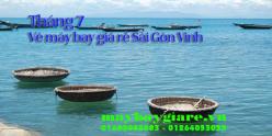 Vé máy bay giá rẻ Sài Gòn Vinh tháng 7 đang có chương trình khuyến mãi Vé máy bay giá rẻ Sài Gòn Vinh tháng 7