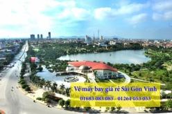 Vé máy bay giá rẻ Sài Gòn Vinh chỉ với 11.000đ Vé máy bay giá rẻ Sài Gòn Vinh